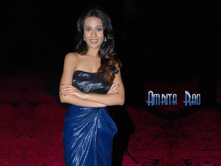 Glamourous Amrita Rao Wallpaper