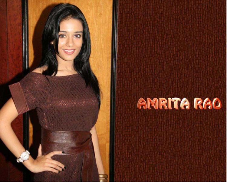 Gorgeous Beauty Amrita Rao Wallpaper