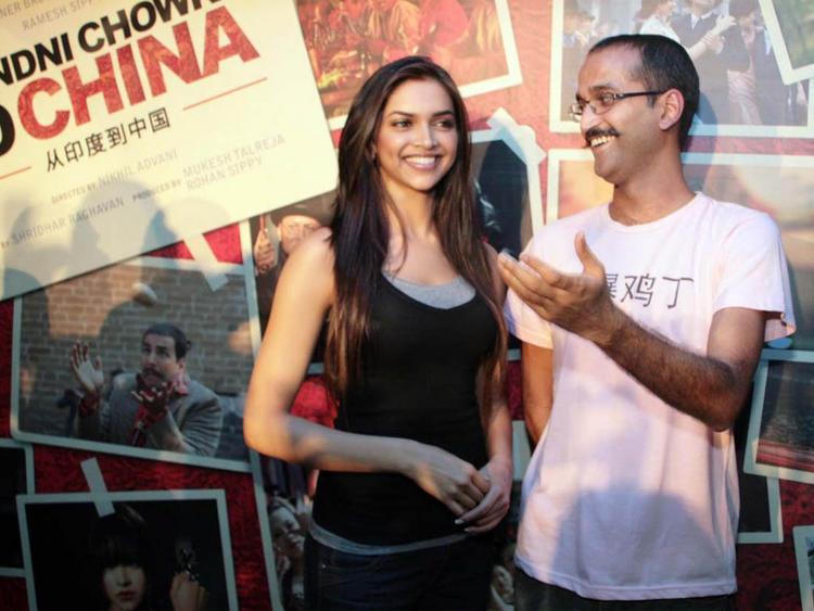 Deepika Padukone at Chandni Chowk To China Press Meet Picture