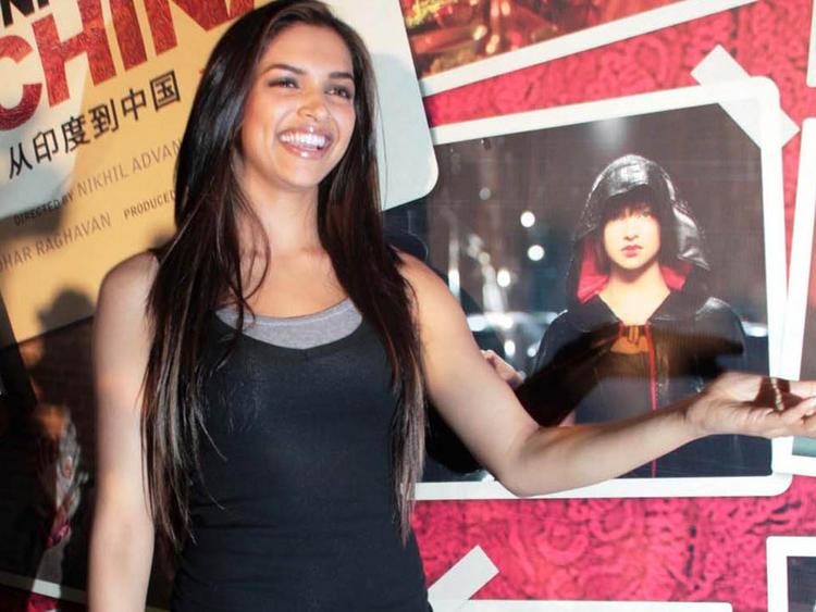 Deepika Padukone at Chandni Chowk To China Press Meet