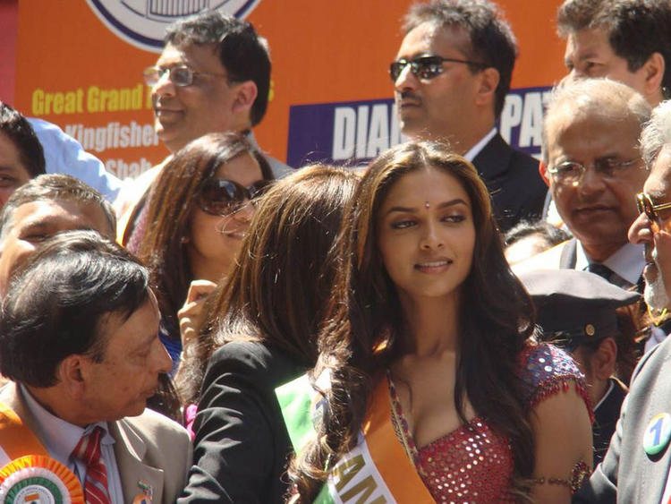 Deepika Padukone Grand Marshal At New York