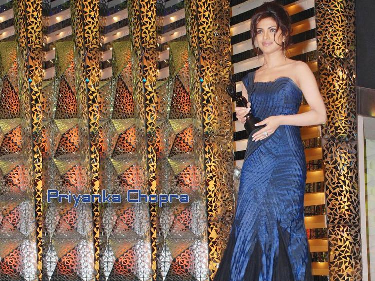 Priyanka Chopra Amazing Wallpaper In Gown