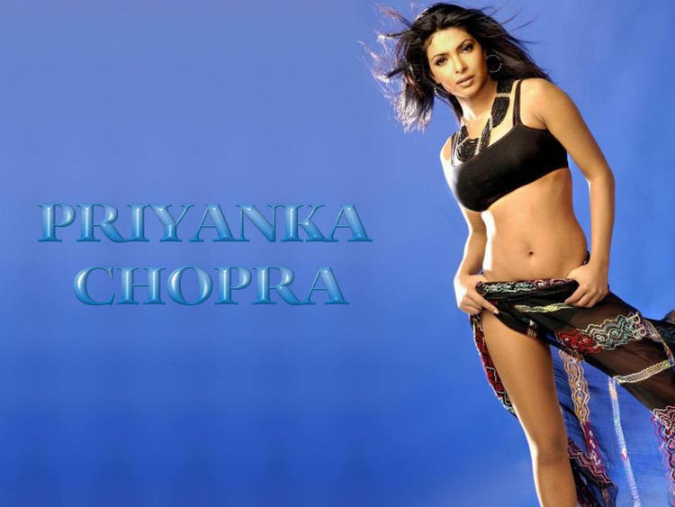Priyanka Chopra Exposing Her Sexy Things