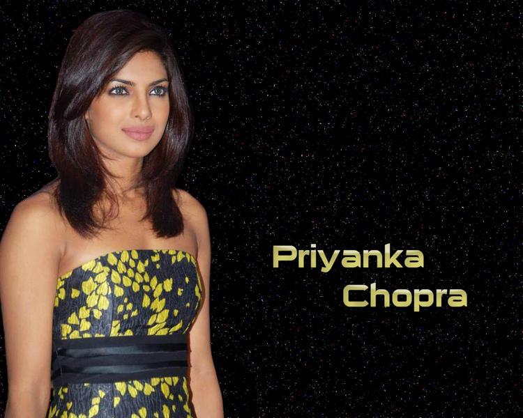 Priyanka Chopra Stapless Dress Wallpaper