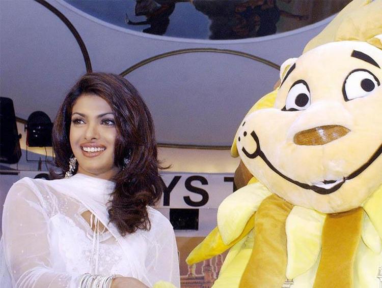Priyanka Chopra Sweet Smiley Face Still