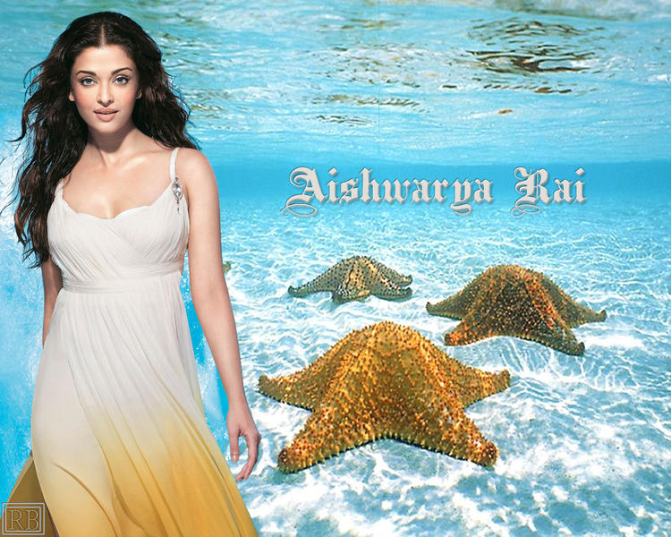 Aishwarya Rai Sexiest Fairy Look Wallpaper