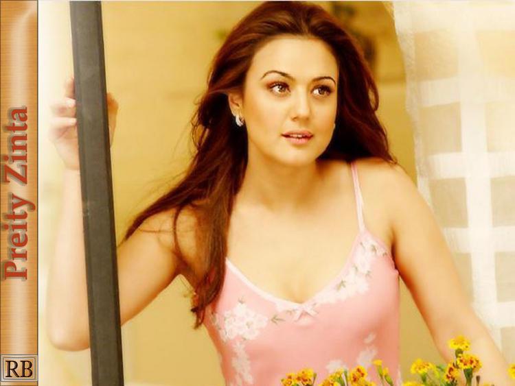 Lovely Actress Preity Zinta Wallpaper