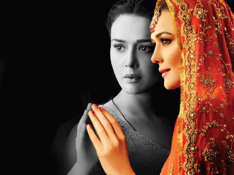 Preity Zinta Beautiful Look Wallpaper