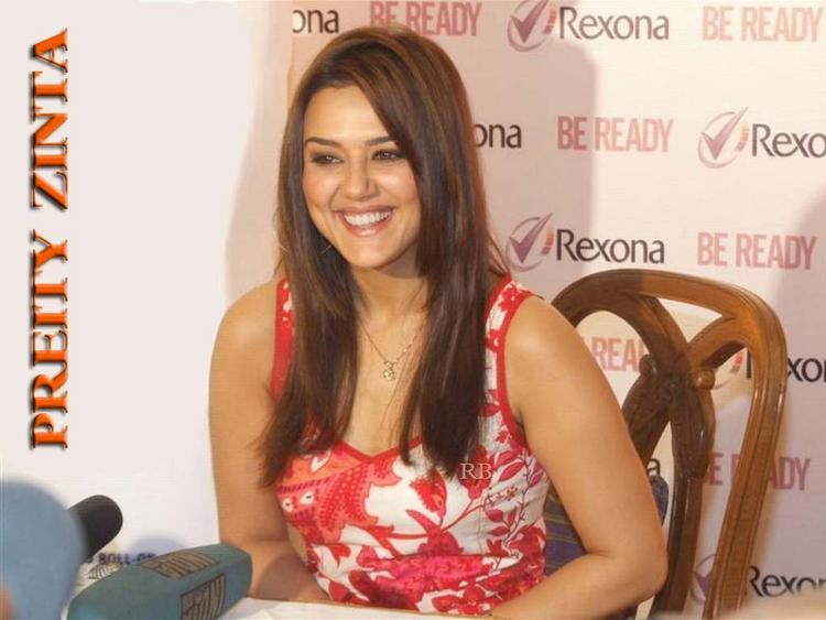 Preity Zinta As Rexona Brand Ambassador Wallpaper