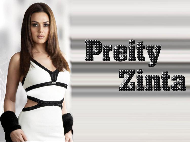 Preity Zinta Sexy Dress Wallpaper