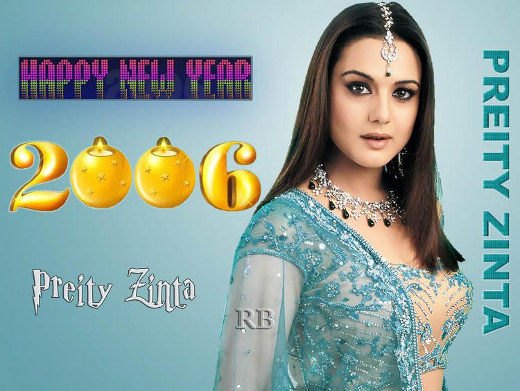Preity Zinta Sizzling Hot Sexy Wallpaper