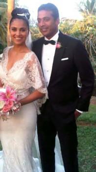 Lara Dutta And Mahesh Bhupthi Wedding Stills