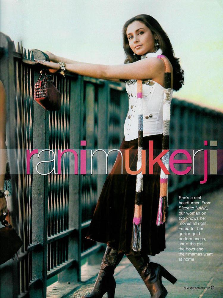 Rani Mukherjee Beautiful Look Wallpaper