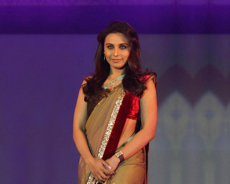 Rani Mukherjee Hot Still In Saree