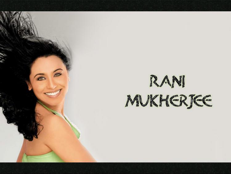 Rani Mukherjee Sexiest Wallpaper
