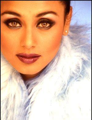 Rani Mukherjee Sexy Eyes and Wet Lips Pic