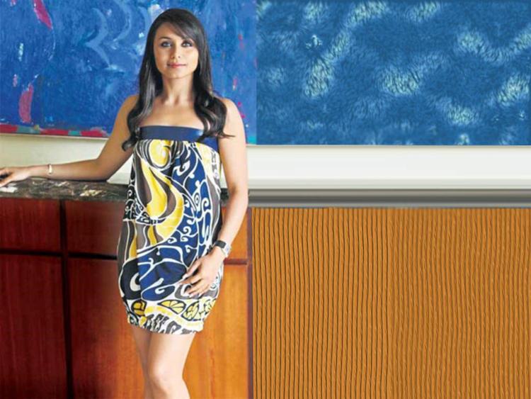 Rani Mukherjee Strapless Dress Hot Wallpaper