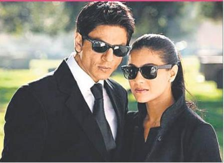 Kajol Devgan and SRK In My Name Is Khan