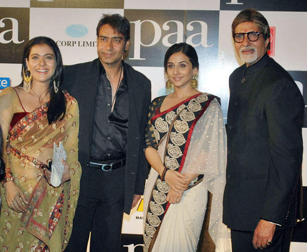 Kajol Devgan at Paa Premiere With Ajay