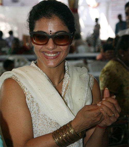 Kajol Devgan Smiling Face Still