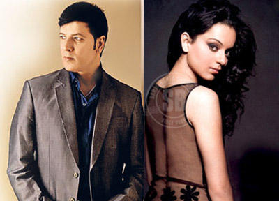 Kangana Ranaut And Aditya Pancholi Photo