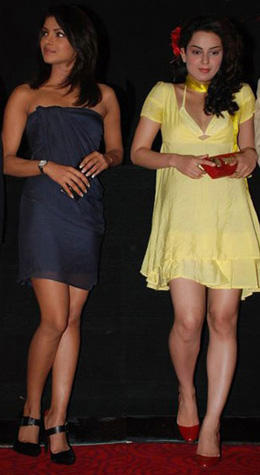 Kangana Ranaut And Priyanka Chopra Photo