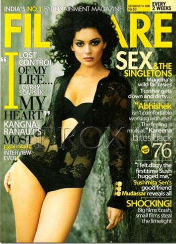 Kangana Ranaut In Filmfare Magazine