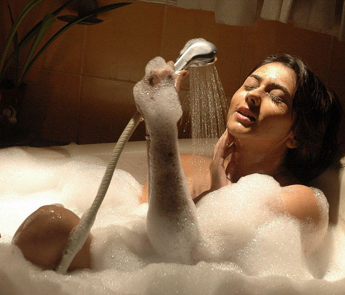 Namitha Bathing Hot Still