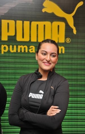 Sonakshi Sinha Puma Brand Ambassador Event Images