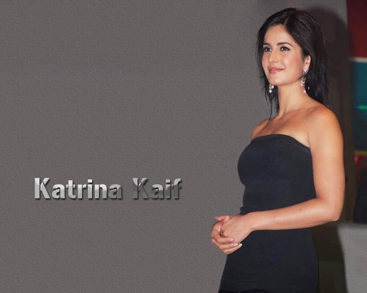 Katrina Kaif Strapless Dress Wallpaper