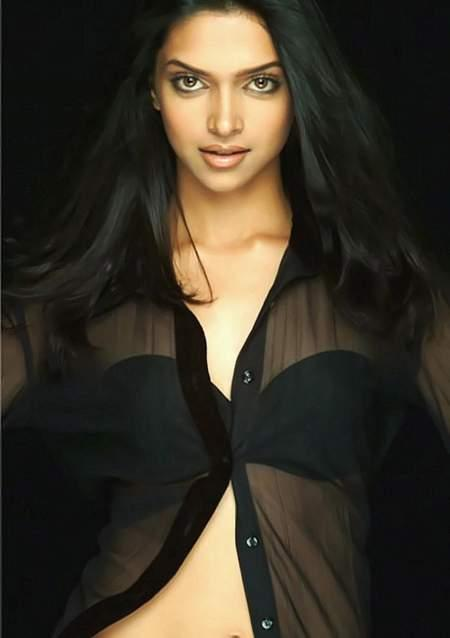 Deepika Padukone Transparent Dress Hot Images