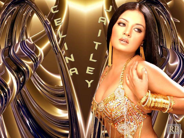 Celina Jaitley Latest Glamourous Wallpaper