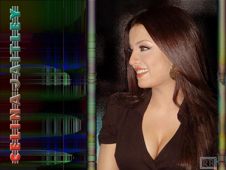 Celina Jaitley Sweet Glowing Look Wallpaper