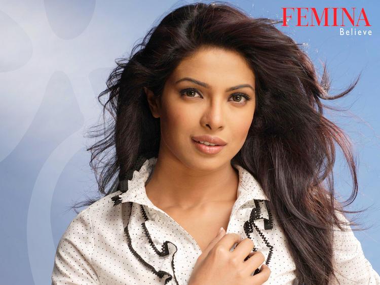 Charming Actress Priyanka Chopra Sweet Still