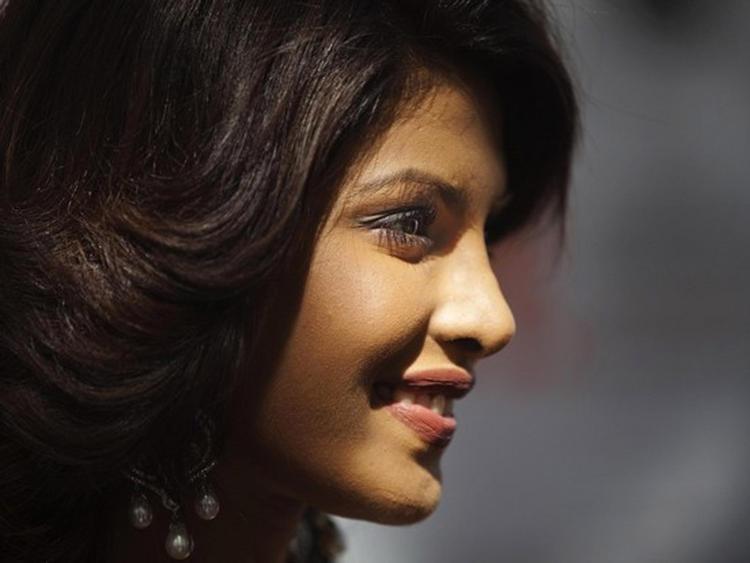 Priyanka Chopra Sweet Smile Pic