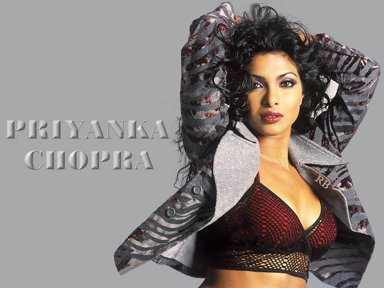 Priyanka Chopra Wet Pose Wallpaper