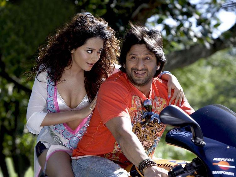 Amrita Rao with Arshad Warsi Latest Pic On Bike