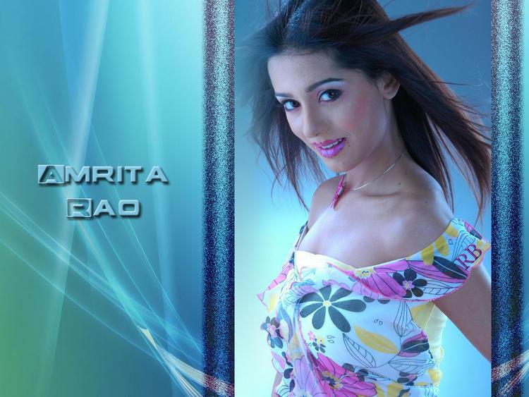 Amrita Rao Sizzling Hot Sexy Wallpaper