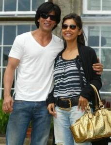 Shahrukh Khan And Gauri Khan Cool Pics