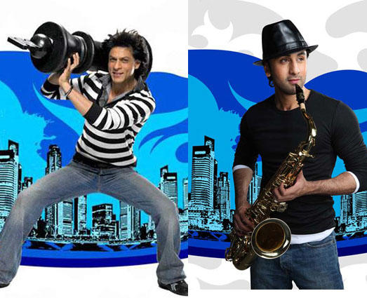 Shahrukh Khan And Ranveer Kapoor Rocking Pics