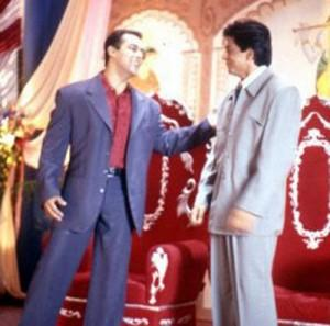 Shahrukh Khan And Salman Khan In Hum Tumhare Hain Sanam