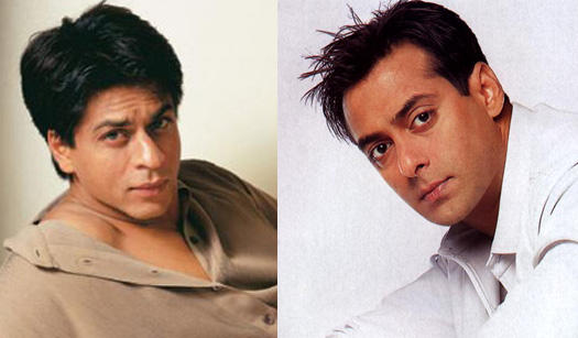 Shahrukh Khan And Salman Khan Nice Photo