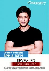 Shahrukh Khan On Discovery Channel