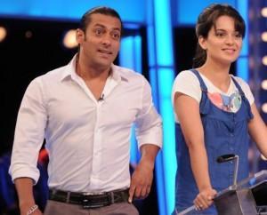 Salman Khan And Kangana Ranaut In Dus Ka Dum