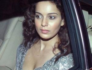 Hot Kangana Ranaut In Car