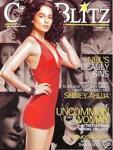 Kangana Ranaut On CineBlitz Magazine