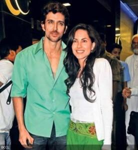 Hrithik Roshan and Barbara Sweet Gorgeous Pic
