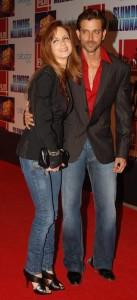 Hrithik Roshan and Suzanne On Red Carpet