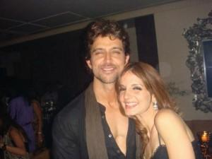 Sexiest Couple Hrithik Roshan and Suzanne Still