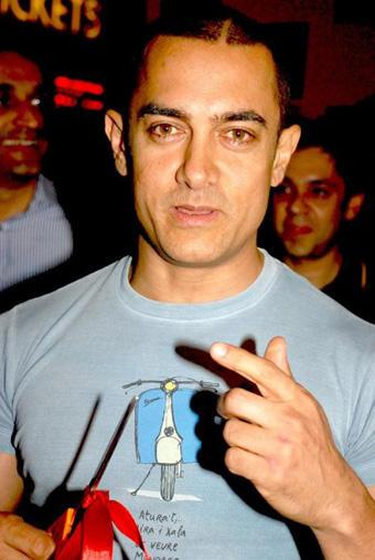 Aamir Khan Cute Face Still